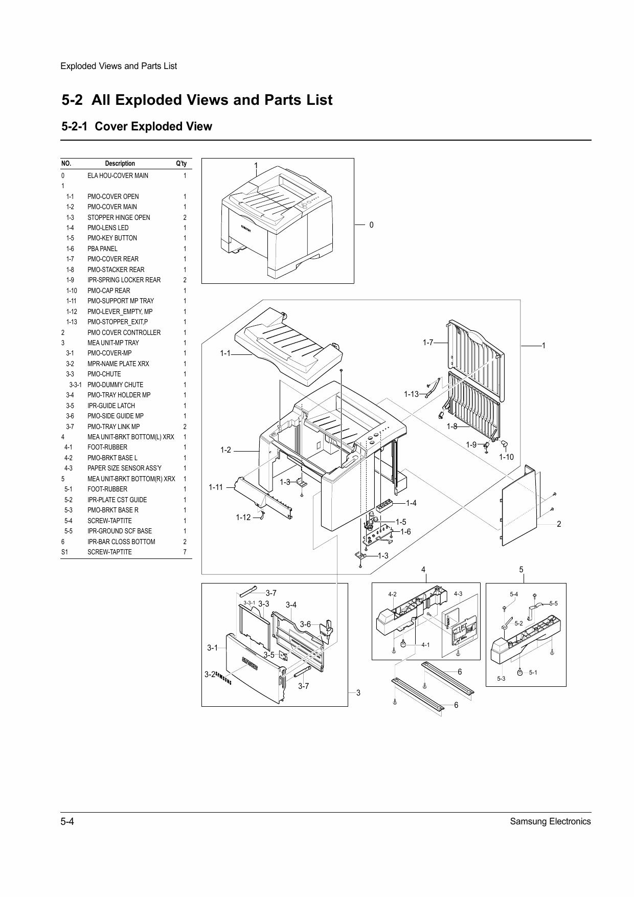 samsung laser printer repair manual